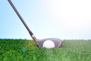 golfing concept